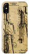 Firearm - Patented On 1907 IPhone Case