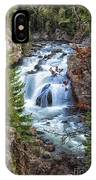 Firehole Falls IPhone Case