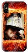Fireman Hero IPhone Case