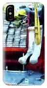 Fireman - Hoses On Fire Truck IPhone Case