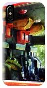 Fireman - Inside The Fire Truck IPhone Case