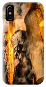 Fireplace II IPhone Case
