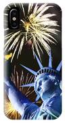 Fires Of Liberty IPhone Case
