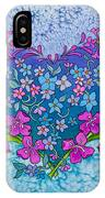 Fireweed Heart IPhone Case
