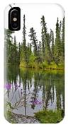 Fireweed On The Clearwater IPhone Case