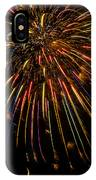 Firework Indian Headdress IPhone Case