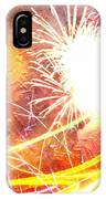 Fireworks As A Painting IPhone Case