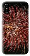 Fireworks At Night 5 IPhone Case