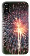 Fireworks At Night 9 IPhone Case