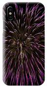 Fireworks Bursts Colors And Shapes 5 IPhone Case
