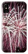 Fireworks Bursts Colors And Shapes 7 IPhone Case