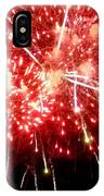 Fireworks Display At Niagara Falls IPhone Case