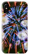 Fireworks Flower Abstract IPhone Case