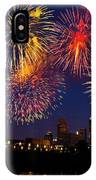 Fireworks In The City IPhone Case