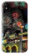 Fireworks Over Atlantic City IPhone Case