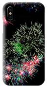 Fireworks Over The Bay IPhone Case