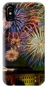 Fireworks Over The Museum IPhone Case