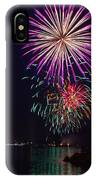 Fireworks Over The York River IPhone Case