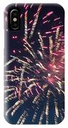 Fireworks Series Xiii IPhone Case