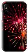Fireworks1 IPhone Case