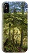 Firs And Ferns IPhone Case