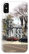 First Baptist Church And Walley School In Bristol Ri IPhone Case