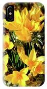 First Crocus Serenade IPhone Case