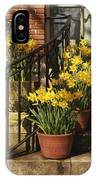 First Signs Of Spring IPhone Case