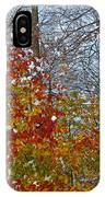 First Snow 2 IPhone Case