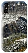 First Snow At Mount Wilbur  IPhone Case