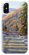 First Snow By Prankearts IPhone Case