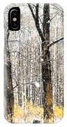 First Snow. Tree Brothers IPhone Case