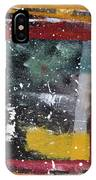 First Snowfall On The Square IPhone Case