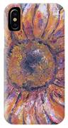 First Sunflower  IPhone Case