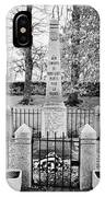 First World War Memorial French Mont-louis Pyrenees-orientales France IPhone Case