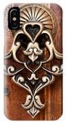 Firuz Aga Mosque Door 05 IPhone Case