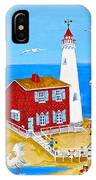 Fisgard Lighthouse IPhone Case