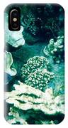 Fish In The Coral IPhone Case