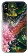 Fish In The Lily Pond IPhone Case