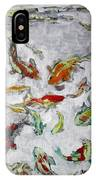 Fish Pond V2					 IPhone Case