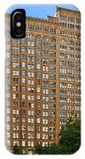 Fisher Building - A Neo-gothic Chicago Landmark IPhone Case
