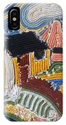 Fishermans Cottages String Collage IPhone Case