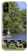 Fishing At Ponce De Leon Springs Fl IPhone Case