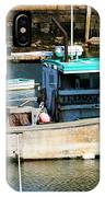 Fishing Boat In Rockport IPhone Case
