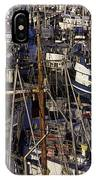 Fishing Boats At Fishermens Terminal IPhone Case