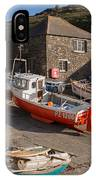 Fishing Boats At Mullion Cove IPhone Case
