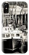 Fishing Boats In Alma IPhone Case