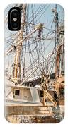 Fishing Boats In Harbour IPhone Case