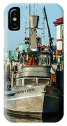 Fishing Boats In Nome IPhone Case