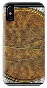 Fishing Dory - Brass Etching IPhone Case